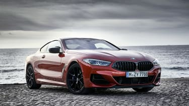 BMW M850i coupe review - static