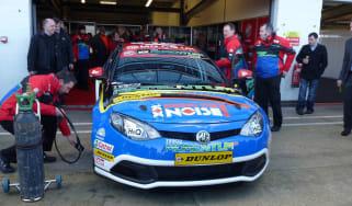 2012 BTCC grid