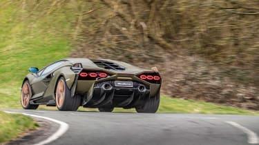 Lamborghini Sian - rear