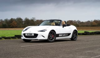 Mazda MX-5 BBR 1.5-litre turbo upgrade –  front quarter