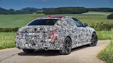 2019 BMW 3-series teaser - rear quater