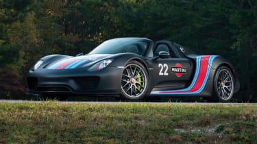 Porsche 918 Spyder – front quarter