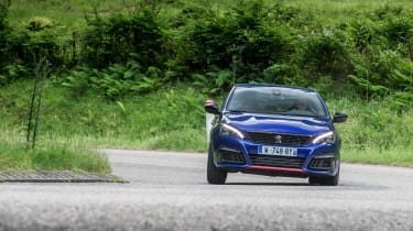 Peugeot 308 GTi by Peugeot Sport - front driving