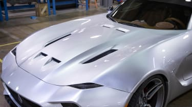 VLF Force 10 coupe hood