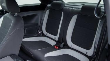 Volkswagen Beetle R-Line rear seats