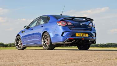 Vauxhall VXR8 GTS-R blue - UK car rear