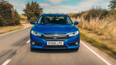 Honda Civic review - saloon nose