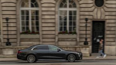 Mercedes S-class – side