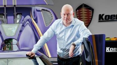 Christian von Koenigsegg and the Agera R
