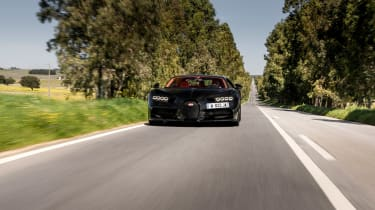 Bugatti Chiron black - front
