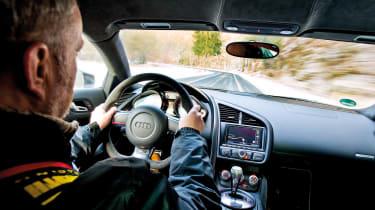 Audi R8 GT in Germany - interior