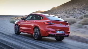 BMW X4 M - rear quarter