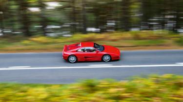 Ferrari F355 Berlinetta – top side