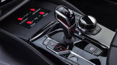 BMW M5 M Performance parts - console