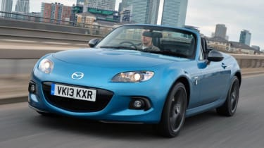 Best convertible cars: Mazda MX-5