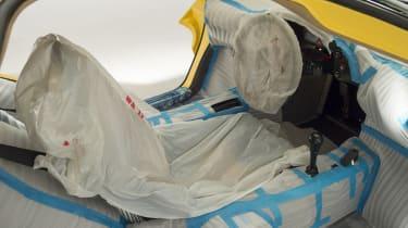 McLaren F1 - interior