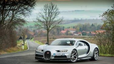 eCoty Bugatti Chiron - front
