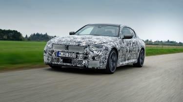 BMW M240i prototype – front tracking