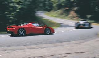 Pagani Zonda v Ferrari Enzo