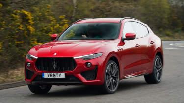 Maserati Levante Trofeo – front cornering