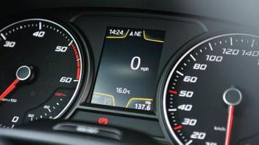 2013 SEAT Leon FR TDI 184 dials