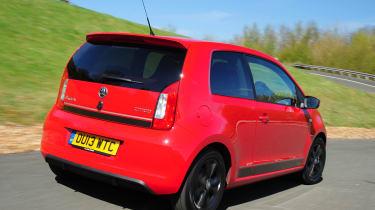 Skoda Citigo Sport red and black rear