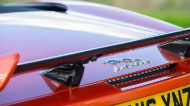 Jaguar F-Type SVR Convertible - rear spoiler