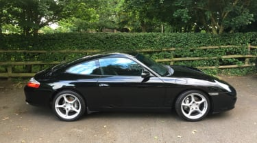 2001 Porsche 996 Carrera 4