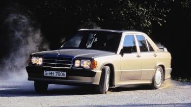 Mercedes-Benz 190 Cossie - sideways