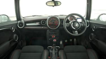 2013 Mini John Cooper Works GP interior dashboard