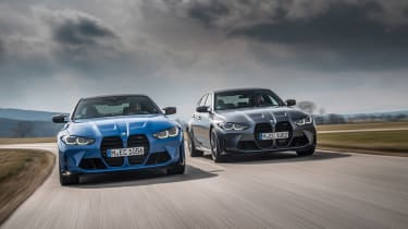 BMW M3/4 Competition xDrive tracking