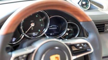 Porsche 911 Carrera - 1 millionth car interior