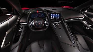 2020 Chevrolet Corvette C8 interior