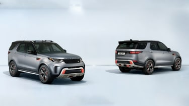 land rover discovery svx front/rear