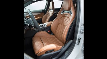 2019 Mercedes-AMG C63 – seats