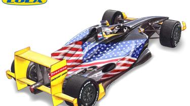 Lola Indycar racer