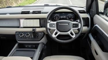Land Rover Defender 110 P400 – cabin