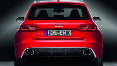 2012 Audi RS4 Avant rear