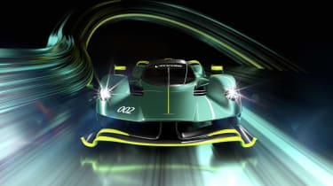 Aston Martin Valkyrie AMR Pro – front