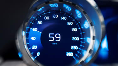 Volvo Coupe Concept speedometer