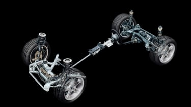 BMW Z8 – chassis cutaway