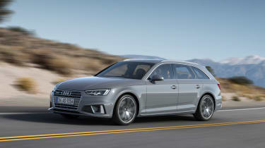 Audi A4 refresh 2018 - front