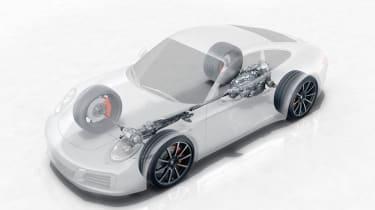 Porsche 911 (991) Carrera 4