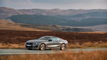 BMW 8-series prototype review - side