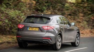 Maserati Levante - rear tracking