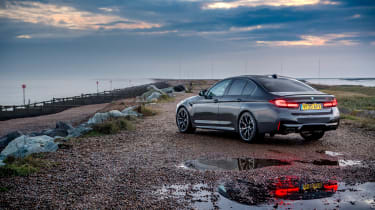 BMW M5 Competition - 2021 rear static