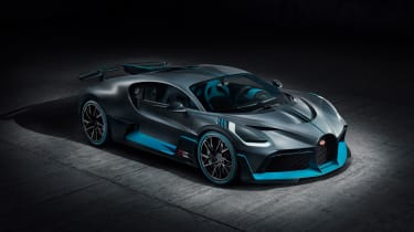 Bugatti Divo - front quarter