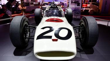Honda RA272 Formula 1 car: Paris motor show 2014