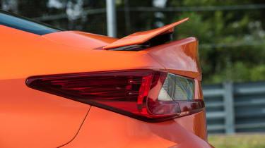 Lexus RC F rear lights