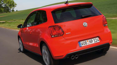 VW Polo GTI rear tracking